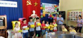Lễ quốc tế thiếu nhi 1/6 cho con cán bộ viên chức tại TTYT Quế Sơn
